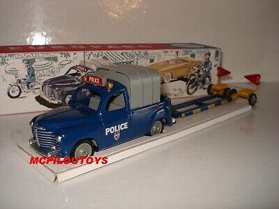 NOREV ICJ europarc RENAULT COLORALE mit Anhänger Polizei bei der 1/43°