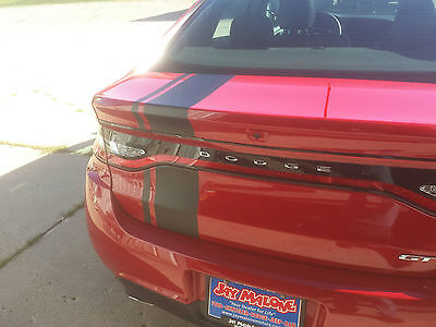 """12 13 14 15 16 17 18 Dodge DART 8"""" OFFSET Rally Stripes Decal Decals Graphics"""