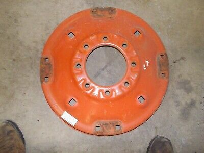 Allis Chalmers Wd Wd45 Tractor Orgnal Ac Rear Factory Spin Out Wheel Center Hub