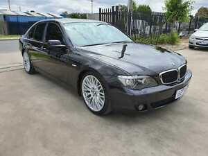2008 BMW 750i E65 INDIVIDUAL V8 LOW KMS Williamstown North Hobsons Bay Area Preview