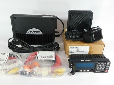 Harris M7300 Xg-75m 700800mhz Mobile Radio P25 Trunking Mamw-sdmxx Complete Set