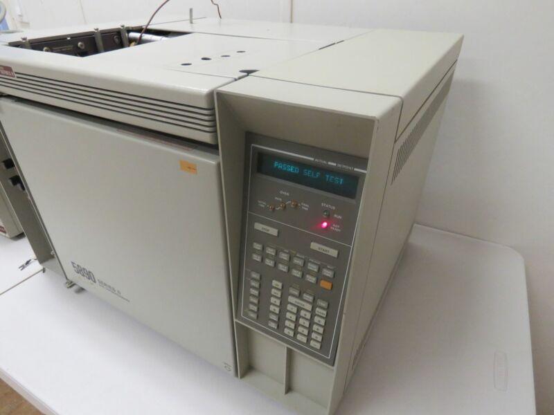 HP 5890 Series II GC Gas Chromatograph w/ 5970B MSD Mass Selective Detector 5970
