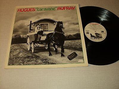 """HUGUES AUFRAY 33 TOURS LP 12"""" FRANCE HUGUES """"CARAVANE"""" AUFRAY"""