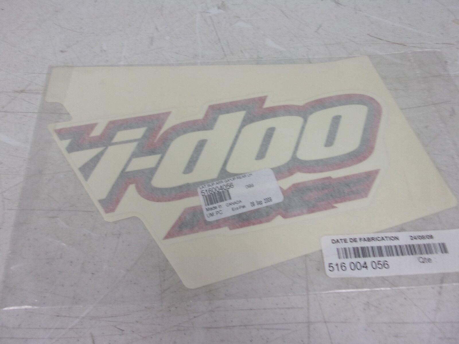 Ski-doo Snowmobile LH Rear Upper Side Decal 516004056