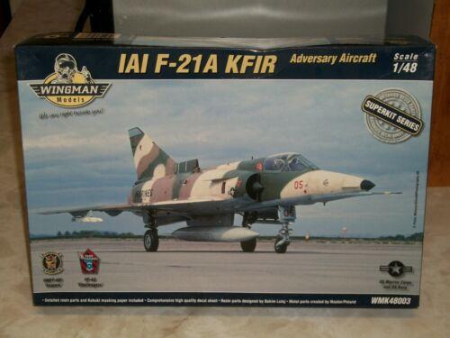 Wingman 1/48 Scale IAI F-21A Kfir Adversary Aircraft