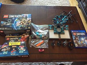 PS4 Lego Dimensions starter pack and level pack
