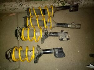 Subaru forester 2004 sg9 lowered springs and shocks
