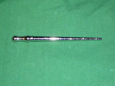 Dilatator Orificium, konisch, mit Griff und Markierung 15 – 30 Charr. Dilator