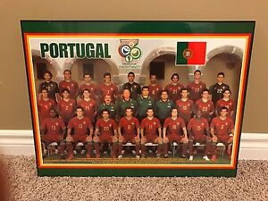 Portugal team picture wall mount