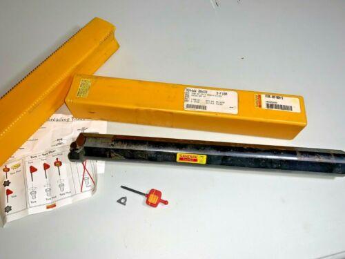 "Sandvik Coromant R166.4KF-D24-3 Threading Boring Bar 15"" long 1.5"" dia NOS"