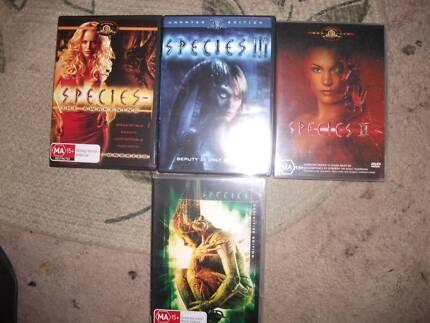 dvds of species