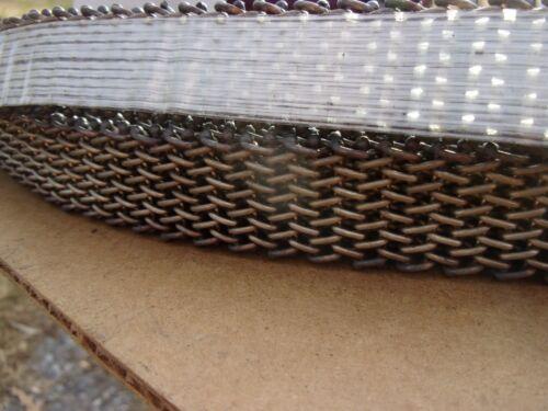 "Cambridge Wire Precision Flat 304 Stainless Steel Mesh Conveyor Belt 1"" W 100"