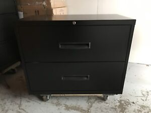 2 Drawer 36in Filing Cabinet - Brand New In Box - FREE DELIVERY