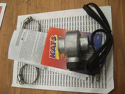 "LOWER COOLANT RADIATOR HOSE ENGINE BLOCK HEATER 1-1/2"" KAT"
