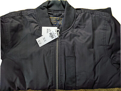 ABERCROMBIE & FITCH - MEN'S BOMBER STYLE JACKET - SMALL