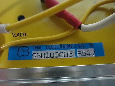 High End Regulator From Oscilloquartz 3102 Cesium Frequency Standard Clock