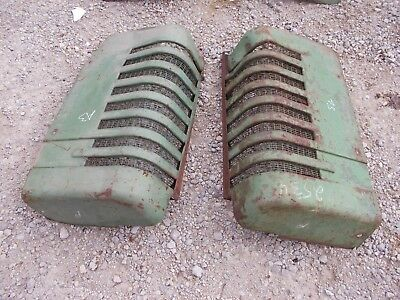 John Deere A Styled Tractor Orignl Jd Front Nose Cone Grill Hood Panel Panels A3
