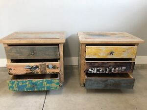 Antique end tables for sale by owner in Kelowna.