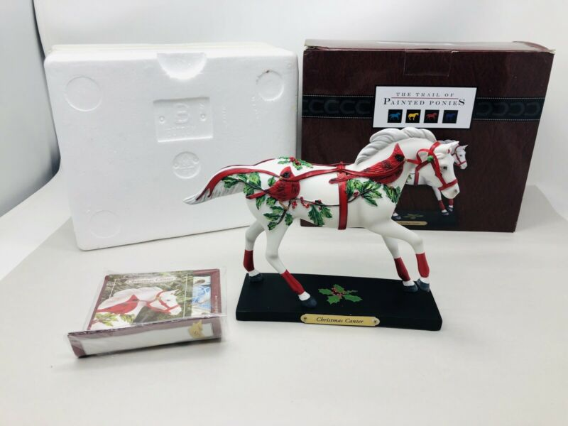 The Trail of Painted Ponies Christmas Canter Figurine 1E / 3656, RARE!