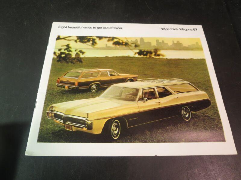 1967 Pontiac Station Wagon Brochure