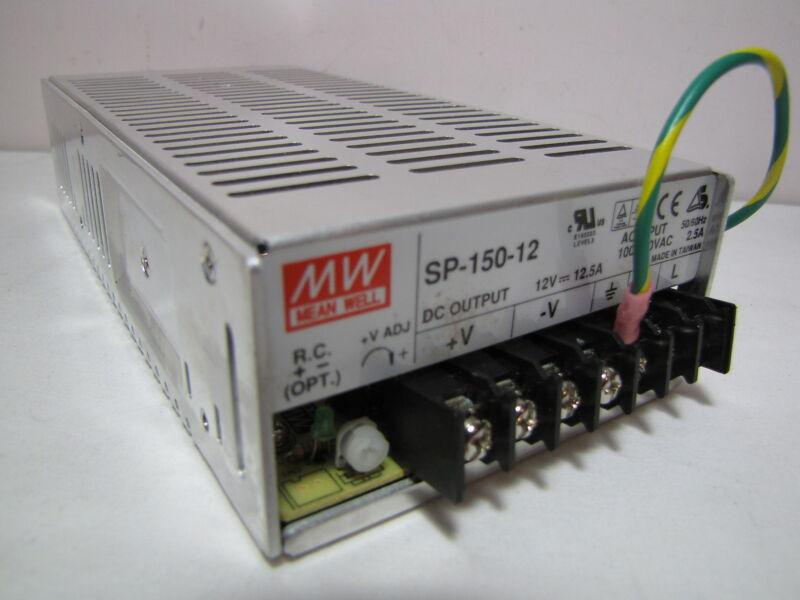 AC to DC Power Supply Single Output 12 Volt 12.5 Amp 150 Watt (used)