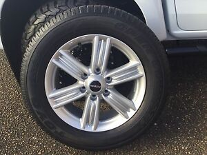 "18"" Toyo tyres and rims for sale - brand new Muswellbrook Muswellbrook Area Preview"
