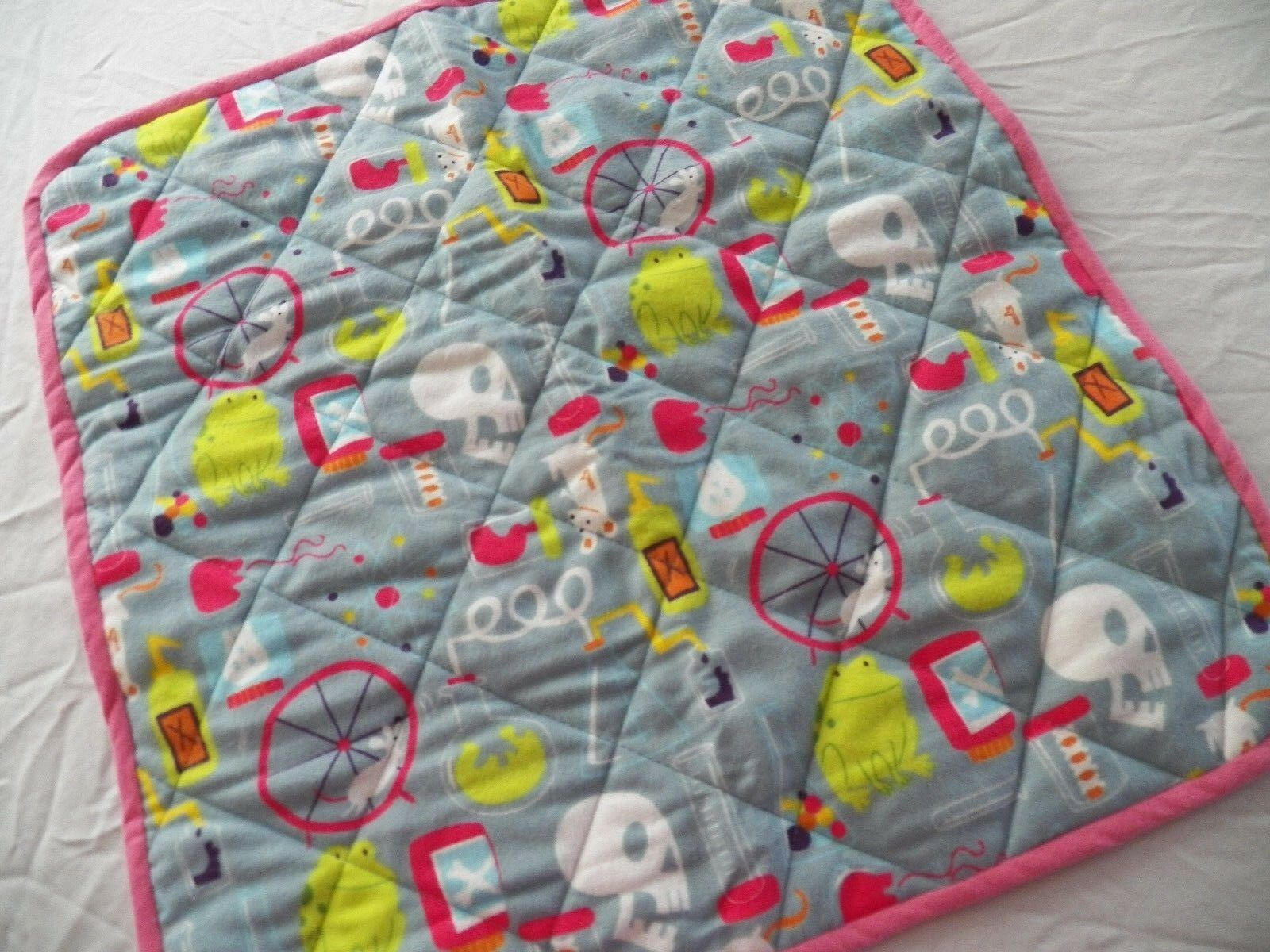 BABY CHANGING PAD Portable Diaper Travel Mat Cotton Washable Padded Handmade NEW 13