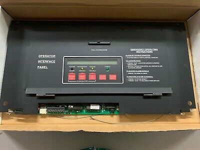 Simplex 4020-8001 Fire Panel Operator Interface W 565-209 Master Controller