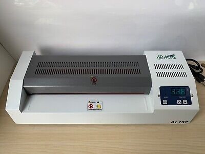 """Apache AL13P White 13"""" Thermal Laminator In Great Working Condition."""