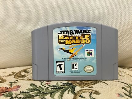 Wanted: N64 battle of naboo Usa/Can (immaculate condition)