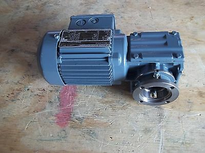 New Sew-eurodrive Spirolan Right Angle Gearmotor Type Waf10 Dt56l4 Ratio 8.21