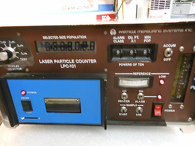 Particle Measuring Systems Inc. Laser Particle Counter Lpc-101