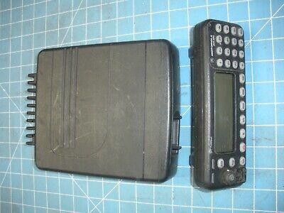 Motorola Mcs 2000 Model Ii Mobile Radio M01hx 896-941 Mhz Uhf Wremote Head