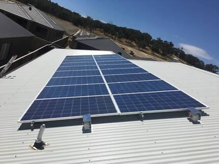 SOLAR (PV) INSTALLATION - 5KW $3800.00