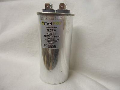 Packard Titan Pro Trcf40 40 Mfd - 440370 Vac Round Run Capacitor