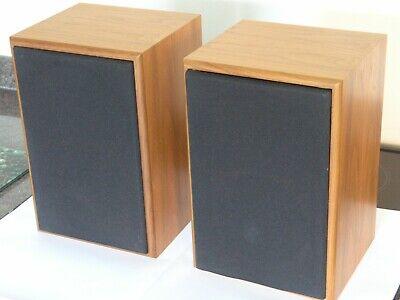 Excellent Rare Royd Sorcerer Stereo Speakers Grilles Vintage Audiophil Hifi NAIM