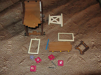 Lot of various playmobil toys / parts seige tower
