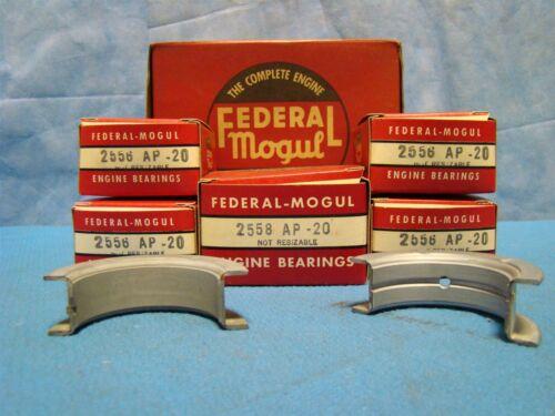62 63 64 65 66 67 - 1970 GMC Chevy Pontiac 153 4 cyl Main Bearing Set 4123M 020