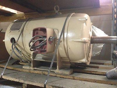 Louis Allis 75 Hp Wound Rotor Induction Motor Frame 405u
