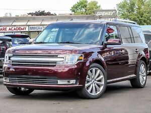 2018 Ford Flex Limited Leather, Sunroof, Navigation, Alloys, AWD