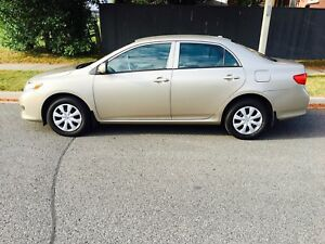 2010 Toyota Corolla, Automatic, 105 000 KM, 1 Owner, New tires