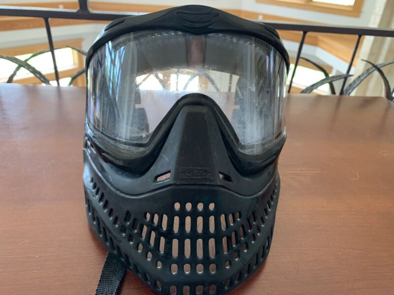OG Black JT Proflex Mask With Chinstrap