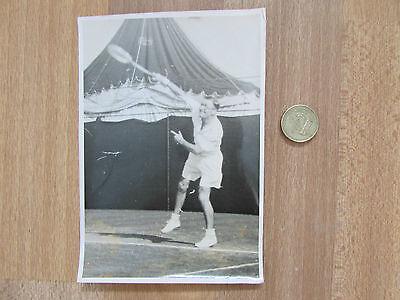 Geoffrey Paish  1950S Gb  Davis Cup Tennis  Player Original Photo No 2