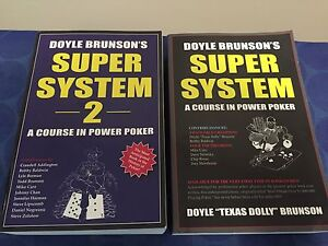 Poker Books System 1 and 2