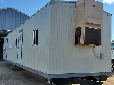 Used Office Trailer-10 X 5046 Box Mobile Office Trailer