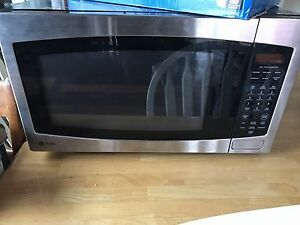 GE Profile counter top stainless microwave