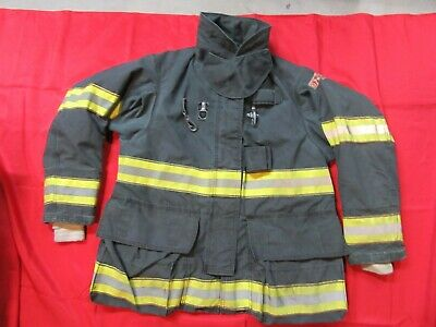 Black Globe Gxtreme 42x32 Firefighter Turnout Bunker Jacket Fire Fdny Style