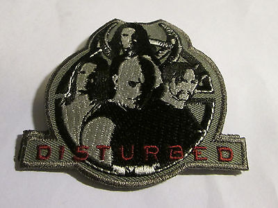 DISTURBED COLLECTABLE RARE VINTAGE PATCH EMBROIDED 2004 METAL LIVE