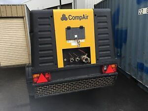 COMP AIR C-110-9 COMPRESSOR- LOW HOURS FOR AUCTION. Derwent Park Glenorchy Area Preview