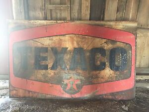 2 TEXACO signs